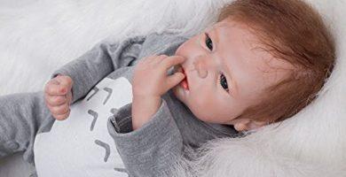 Muñeco Reborn Bebé Niño Pequeño Suave de silicona y Vinilo ¡Oferta!