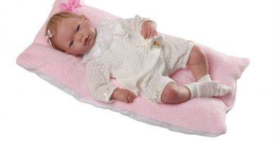 ▷ Guca Muñeca Baby Reborn Alma con Pelo Especial | Oferta |