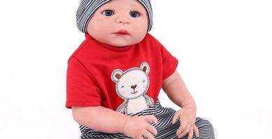 NPKDOLL Muñeco bebé Reborn Boy 55 cm