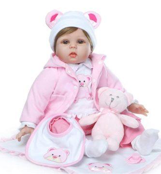 Realista Bebé de Muñecas Reborn - Niña de Silicona en Oferta